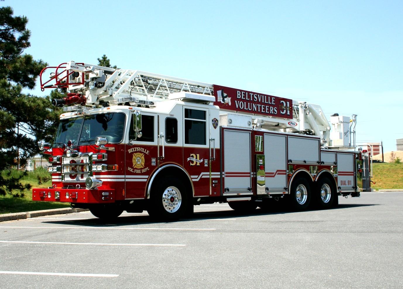 Beltsville Volunteer Fire Department Prince George S