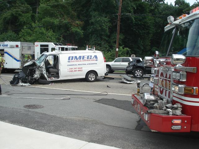 One Trapped on Old Baltimore Pike - Beltsville Volunteer