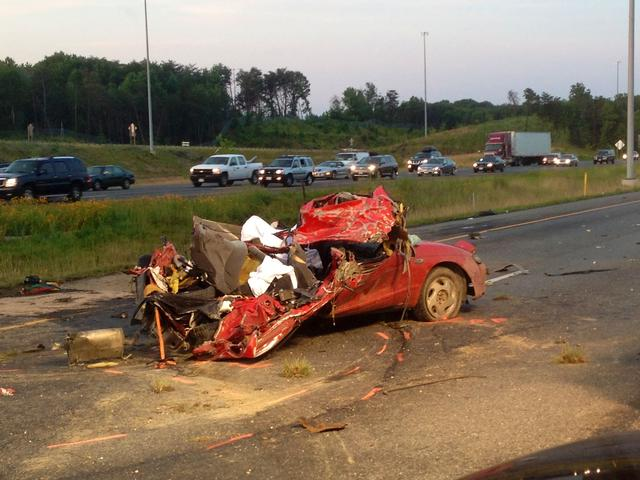 Fatal Vehicle Accident on I-95 south  - Beltsville Volunteer Fire