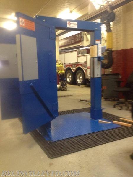 Bvfd Take Delivery Of Blue Door Beltsville Volunteer Fire Department